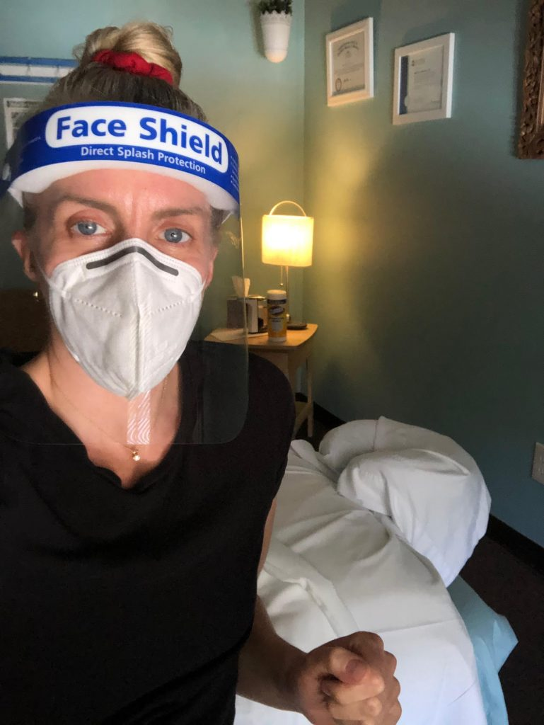 heidi johnson thrive massage ann arbor covod-19 precautions